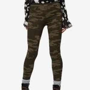 Sanctuary x Anthropologie Camo Grease Legging